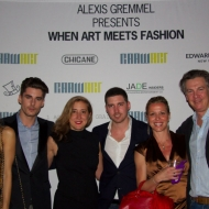 Joy Corrigan-Alexis Gremmel-Caroline Bergonzi-Valerie Melchior Bruell and husband