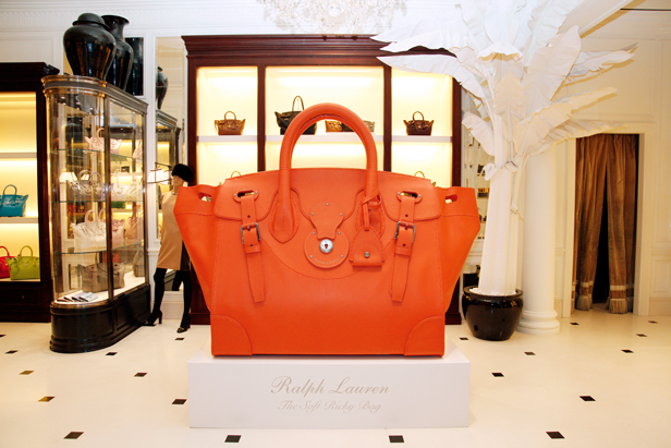 Ralph Lauren Ricky Bag World Tour Dubai