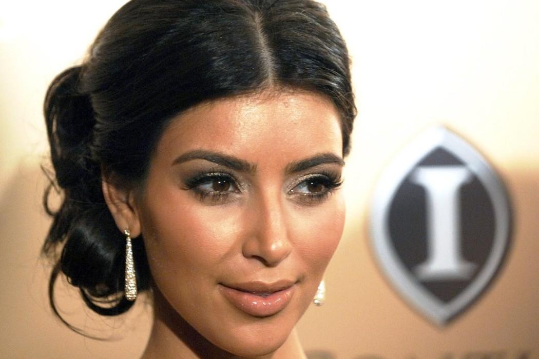 Kim-Kardashian-Cute-Face-